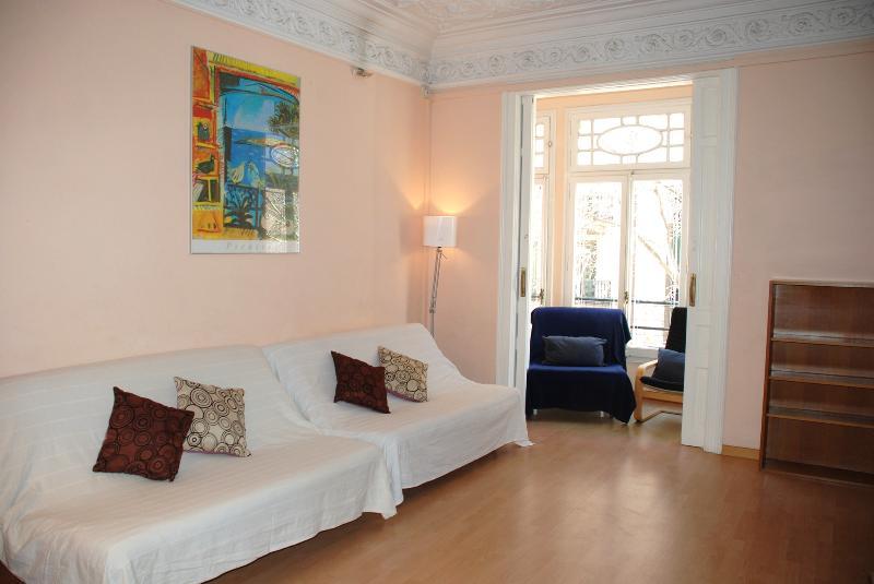 Living room - Bailen Eixample - Barcelona - rentals