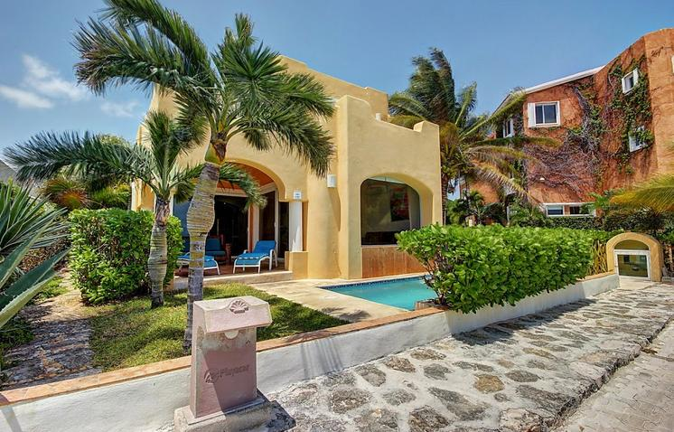 Lovely Beach Front Villa in Playacar P I (amigos) - Image 1 - Playa del Carmen - rentals