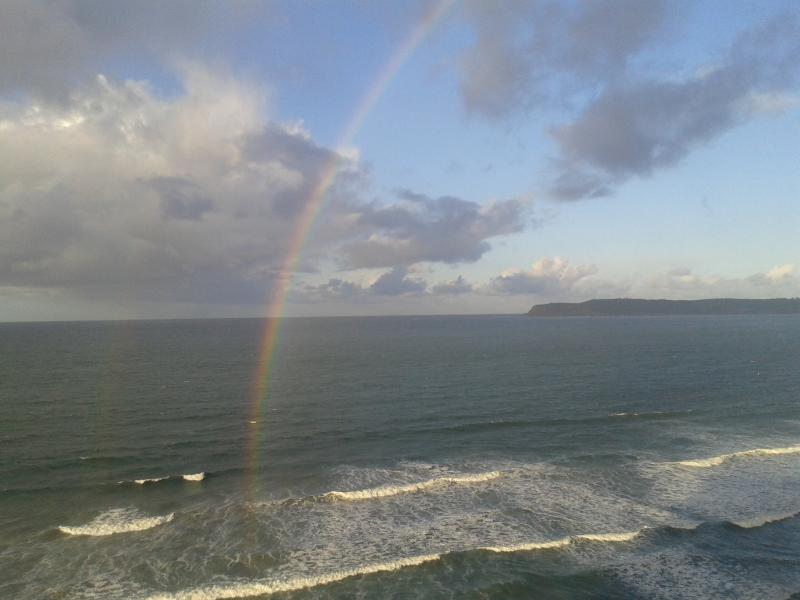 You will be living 'Over the Rainbow' in paradise. - Ocean Lovers Paradise At The Shores, Two Bedroom, Beachfront - Coronado - rentals