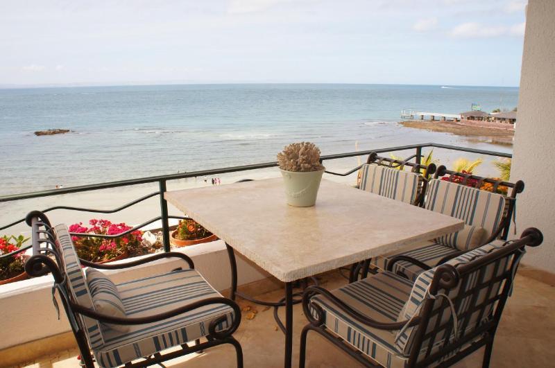 Terrace - 503 Condominium at La Concha Beach Resort - La Paz - rentals