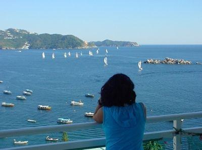 Watch the Regattas - Acapulco Luxury Penthouse overlooking Boca Chica - Acapulco - rentals