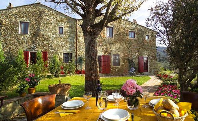 Exterior view - 4 Bedroom Vacation House in the Chianti Hills - Greve in Chianti - rentals
