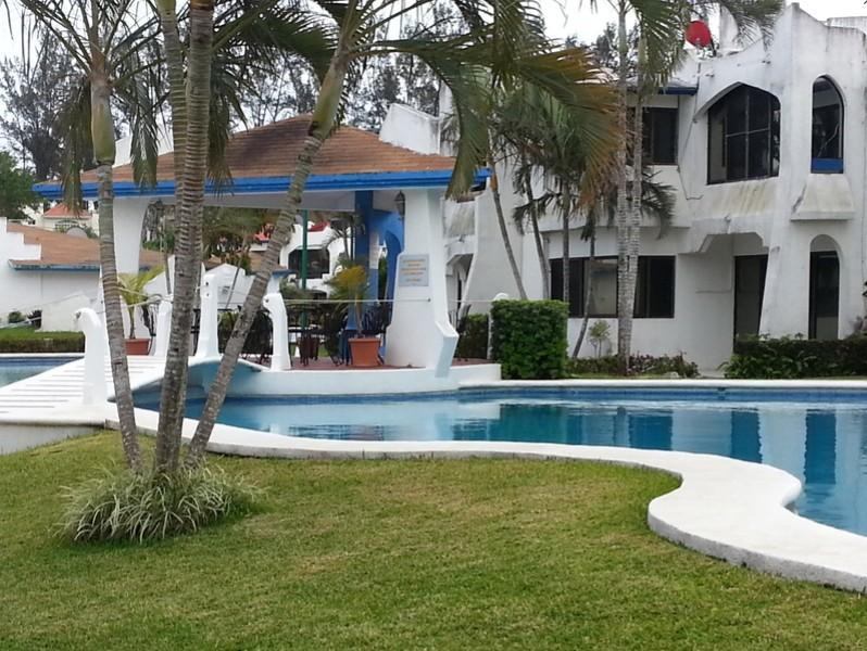 Rincón del Conchal condo property - 2br - 656ft² - FURNISHED house with pool (Veracruz, Mexico) - Boca del Rio - rentals
