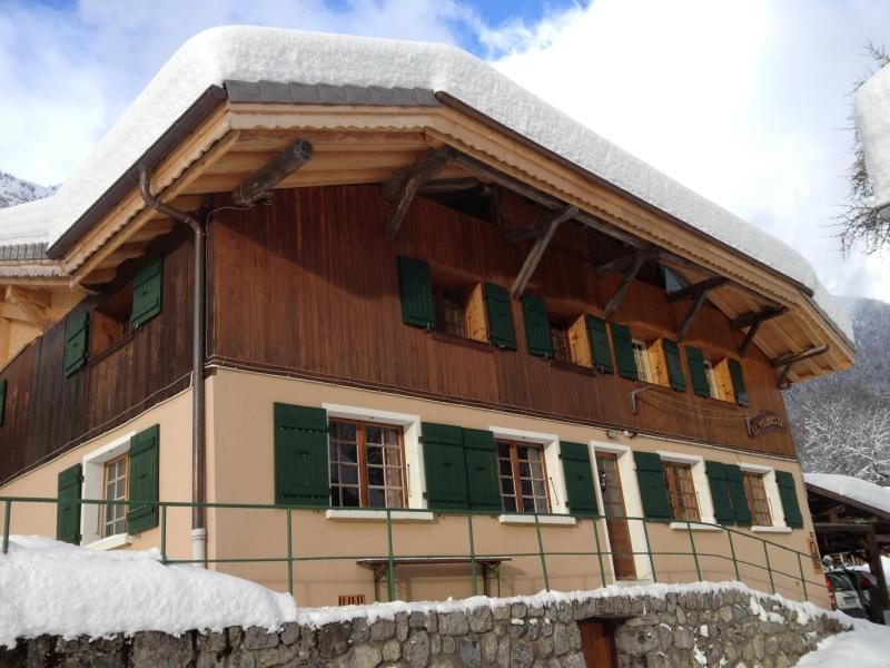 The chalet, apartment is on upper floor. - Apartment sleeping 6 Morzine/Montriond, France - Montriond - rentals
