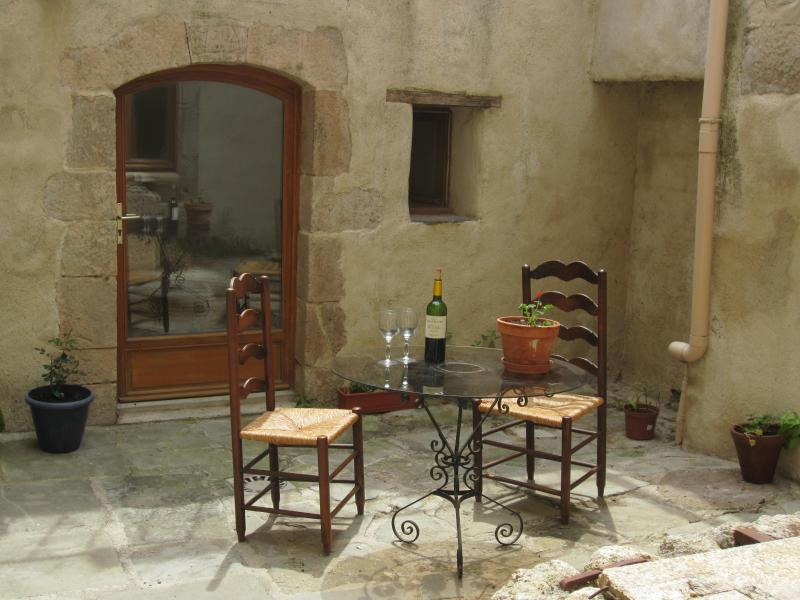 The terrace - Charming period home in historic village - Caunes-Minervois - rentals