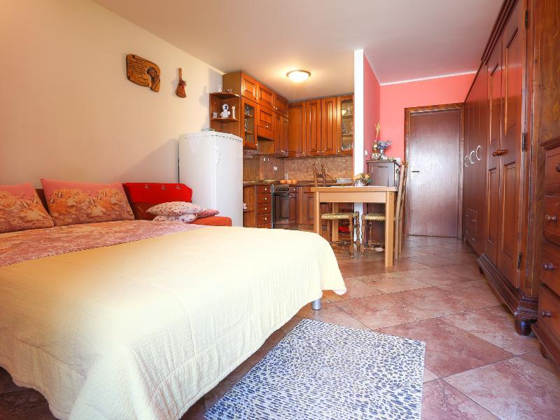NB3 Air conditioned studio with garden view - Image 1 - Basanija - rentals