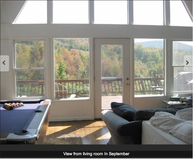View from great room in Fall - Everyday is a Holiday at this Vacation home - Oriskany - rentals