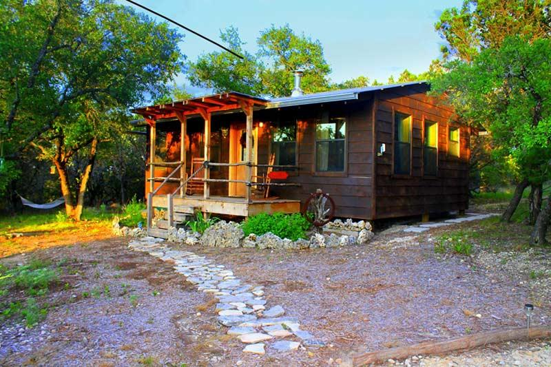 Romantic cabin in the woods - Little cabin in the woods with private hot tub - Wimberley - rentals