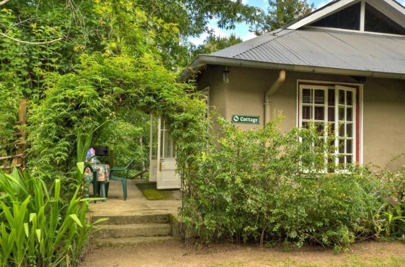 Cottage Entrance - Romantic studio-cottage - Hogsback - rentals