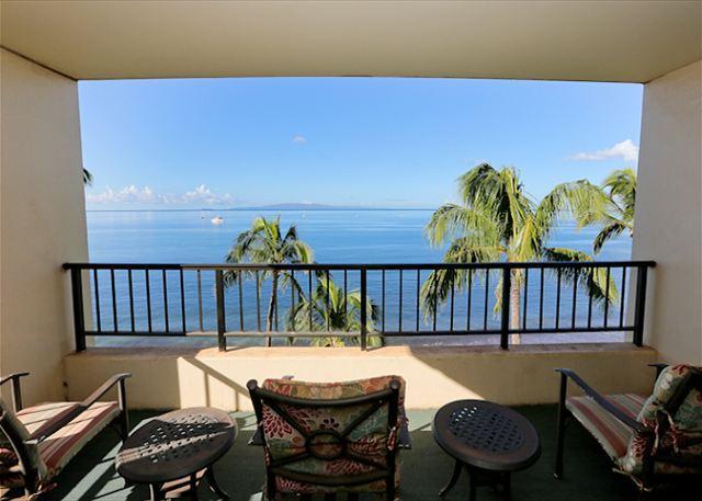 Sugar Beach Resort Penthouse Oceanfront Ocean View 2/2   Great Rates! - Image 1 - Kihei - rentals