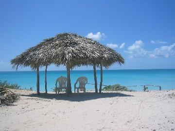 Your own private Tiki - Sea Star Cottage On Gorgeous  Beach, Cat Island Bs - Cat Island - rentals