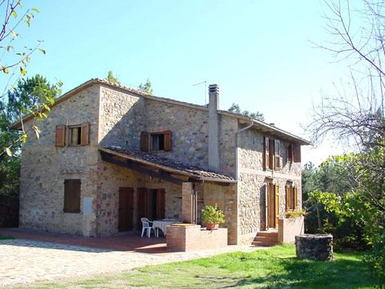 The Wishing Well Villa House to rent near Monticiano - Holiday villa Monticiano - Image 1 - Monticiano - rentals