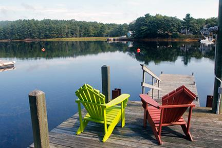 Private waterfront dock - #7 Long Cove Cottage, Mahone Bay NS - Mahone Bay - rentals