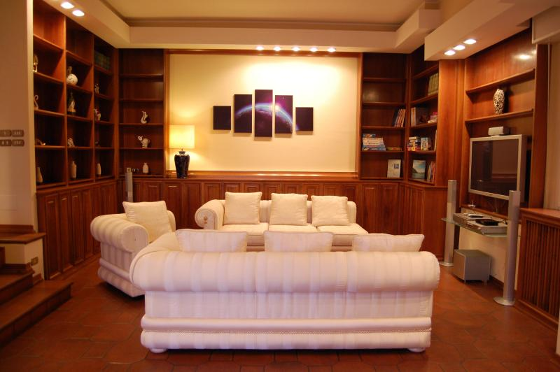 MAIN SALOON - Lake Front - Luxury Villa In The Lake Como With Garden And Amazing Lake Views - Lecco - rentals