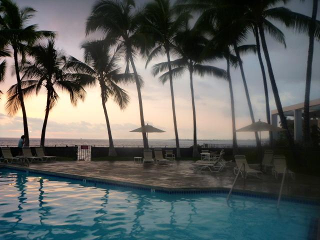 South pool - ELEGANT OCEANFRONT LIVING - Kailua-Kona - rentals
