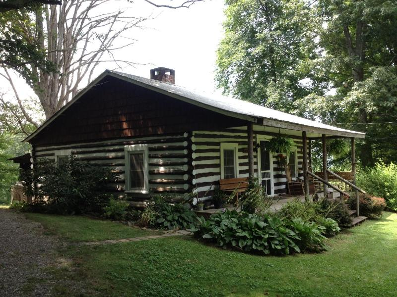 Charming Authentic 1920's Cabin built by Abner Gwaltney - **QUAINT CABIN** - DOG FRIENDLY / WI-FI / GAS FP - Asheville - rentals