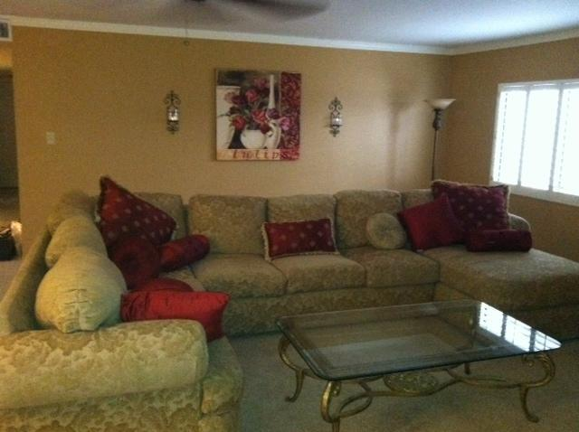 Very large living room - Rent entire month for $85.00 a night! 5/15 to 6/15 - Sun Lakes - rentals