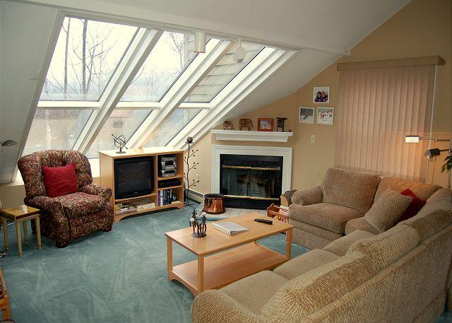 Living Room - Winterplace 2 Bedroom Plus Loft - Ludlow - rentals