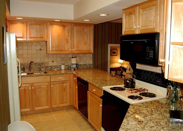 Kitchen - Solitude Village 2 Bedroom Ski In/Out - Ludlow - rentals