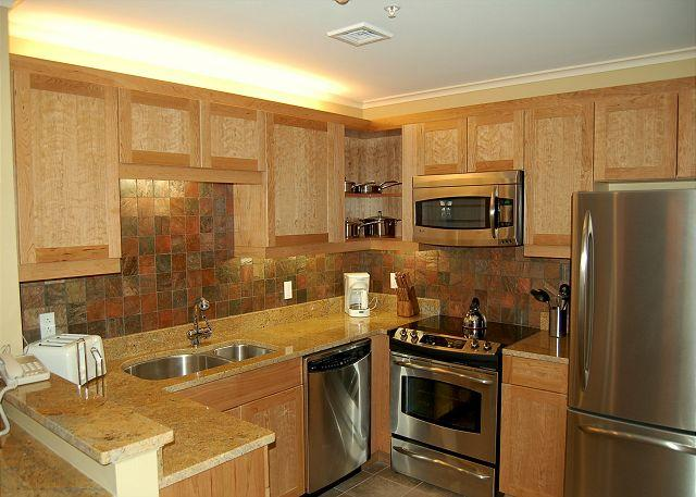 Kitchen - Jackson Gore 2 Bedroom Ski In/Out - Ludlow - rentals