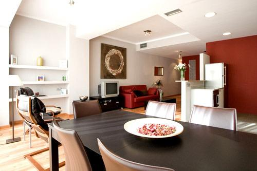 Apartment Barcelona Living room - Stylish 3br apartment in the Eixample Area of Barcelona - Barcelona - rentals