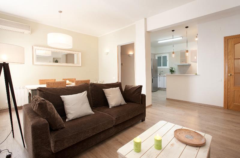 Apartment Barcelona Living room - Brand new 2br apartment in Barcelona - Sagrada Familia - Barcelona - rentals