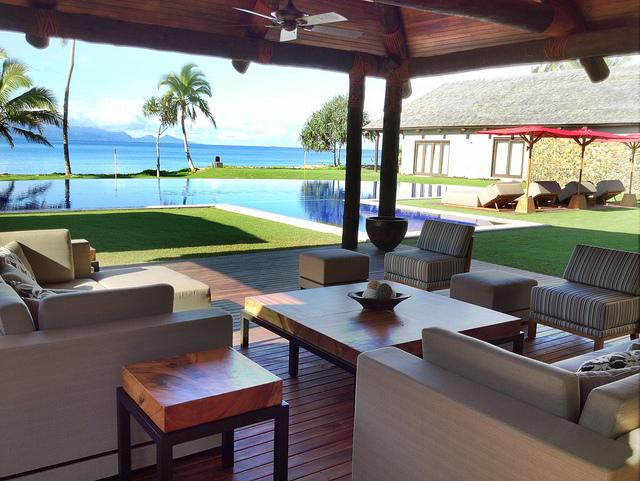 Outdoor Living - Villa Takali - Pacific Harbour - rentals
