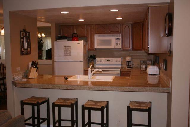 Kitchen - Sunshine Village 153 Mammoth Lakes CA 2 Bedroom 2 Bath condo - Mammoth Lakes - rentals