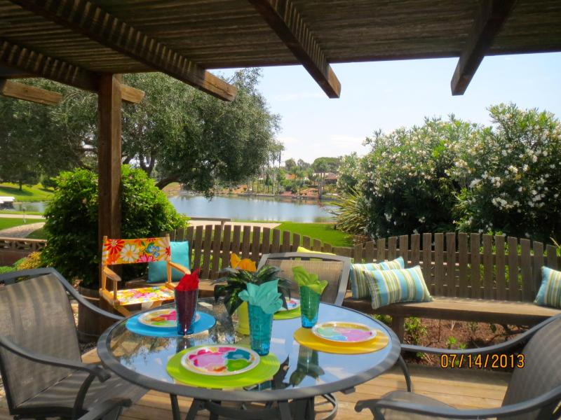 Patio Over Looking the Lake - Come for the Weather, Stay for the View - San Marcos - rentals