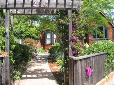 Entry - Spacious Home on Large Property with Gardens, Gardens, Gardens - Larkspur - rentals