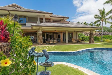 Gated Kauna'oa 8B with sweeping ocean views, short walk to beach & amenities - Image 1 - Mauna Lani - rentals