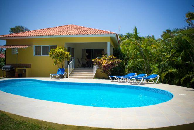 2 BDR villa with Jacuzzi in Gated Community - Image 1 - Sosua - rentals