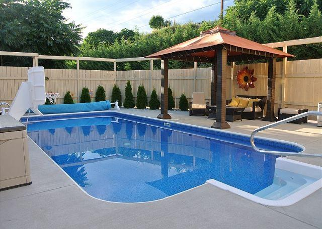 Private and Relaxing Pool with Cabana for Lounging - Manson Pool House Oasis - Manson - rentals