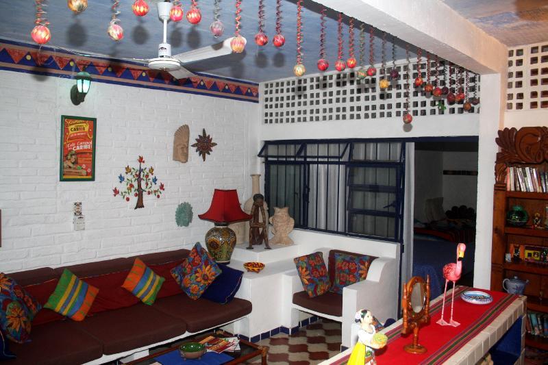 Living Room - Casa Jasmine - Stunning Los Muertos Beach Paradise - Puerto Vallarta - rentals