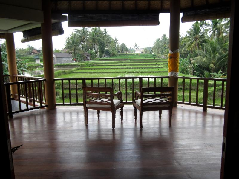 Upstairs Terrace - Peaceful Hideaway - Ubud - rentals