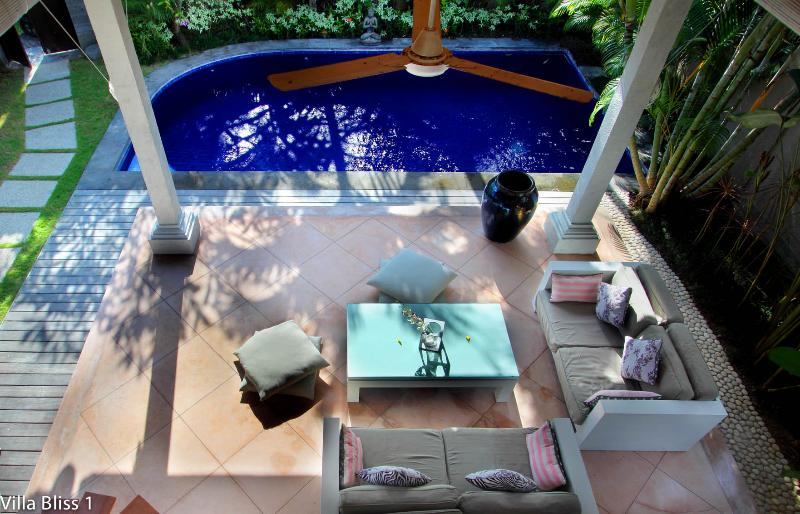 """Your private paradise! Living Room view from small bedroom - Villa Bliss 1 near Seminyak """"Pure Bliss"""" - Seminyak - rentals"""