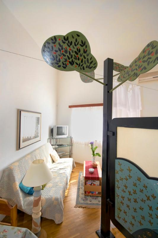 artistic screen - Studio apartman artistic decorated nearby beach - Pula - rentals