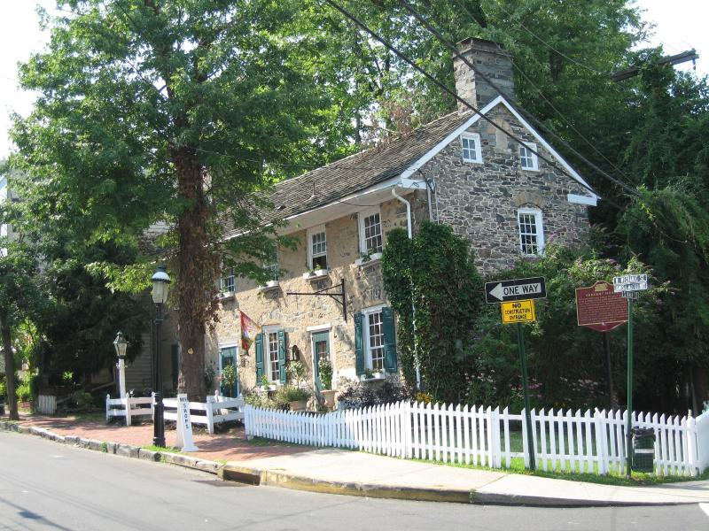 Street View - Oldest Stone Home in New Hope, built 1743 - New Hope - rentals