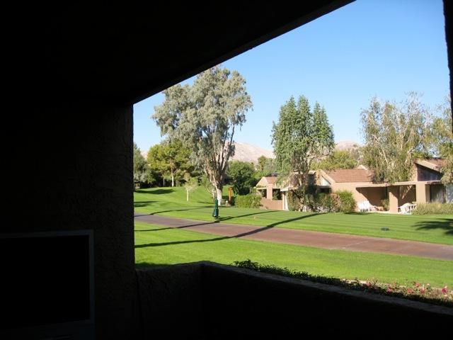 Rear Off Patio Overlooking Golf Course - Ironwood Country Club, Palm Desert CA - Magnificent - Palm Desert - rentals