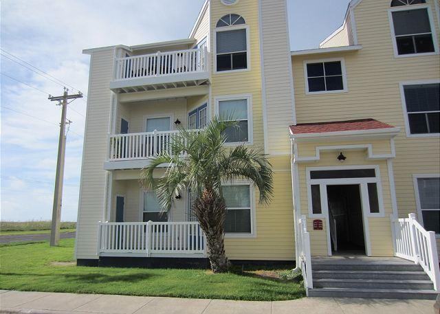 Exterior of bulding - Come enjoy the ALL NEW Gulf Front Getaway, just steps from the beach! - Corpus Christi - rentals