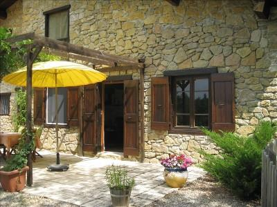 Front view - Stone Country House Near Historic Mirepoix - Carcassonne - rentals
