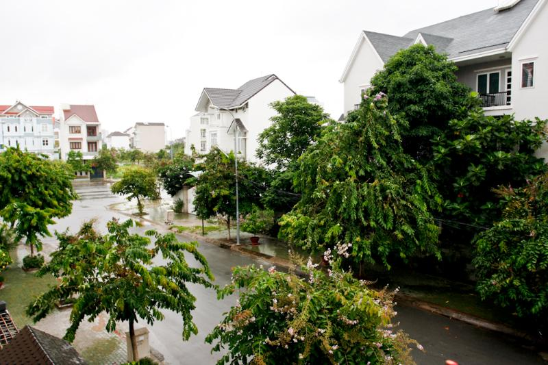 View from your balcony - 4 BR - 3 bathrooms in huge villa 10min to Saigon - Ho Chi Minh City - rentals