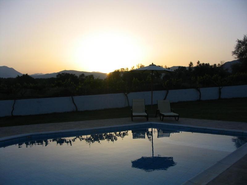 pool - VILLA AURORA CRETE/ - BEST LOCATION NATURA CRETE - Agkouseliana - rentals