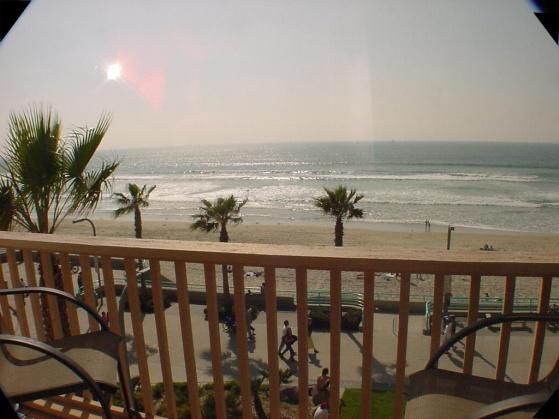 Direct Ocean View condo with spacious Patio/deck - Image 1 - Pacific Beach - rentals