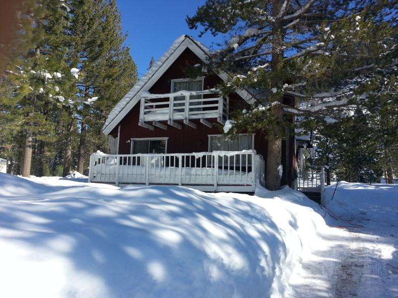 Winter Snow - Red Mountain Cabin - South Lake Tahoe - rentals