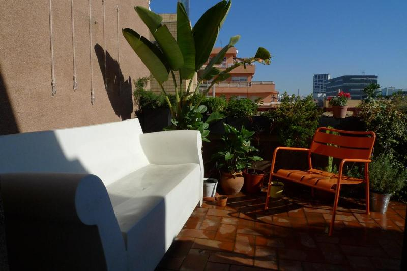 Terrace - Beachside terrace apartment - Barcelona - rentals