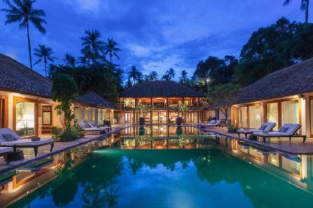 Enjoy a Private, Upscale Family Residence in Baan Wanora Villa - Steps to Beach - Image 1 - Koh Samui - rentals