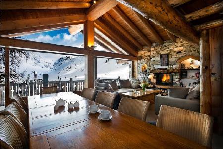 Chalet Lafitenia- unique Alps view, Ski-in/Ski out, 2 jacuzzis & staff - Image 1 - Val-d'Isère - rentals