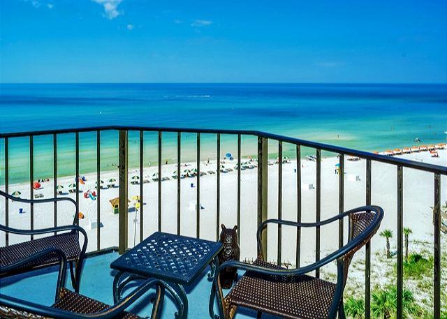 Beachfront for 4 on the 9th Floor with Fabulous Views! - Image 1 - Panama City Beach - rentals