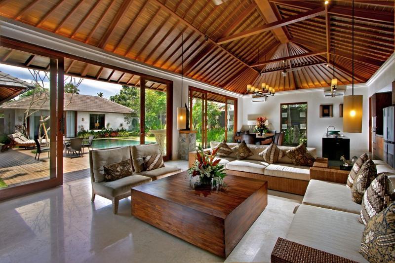 2 Bedrooms Pool Villa living - The Akasha Luxury Private Pool Villa Seminyak Bali - Seminyak - rentals